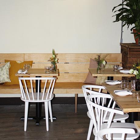 Field & Vine dining room