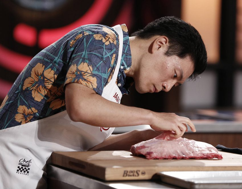 Jason Wang on MasterChef