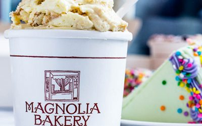 Magnolia Bakery's classic banana pudding and cake