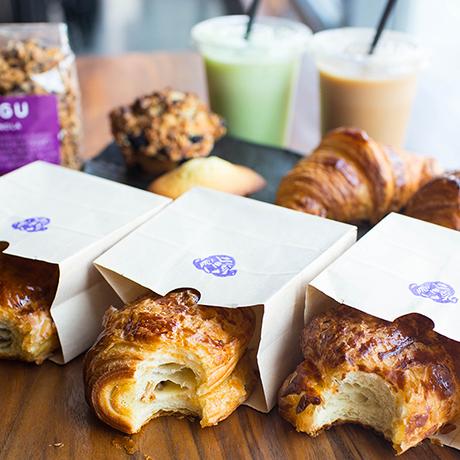 Pastries at Pagu. Weekday breakfast starts in September