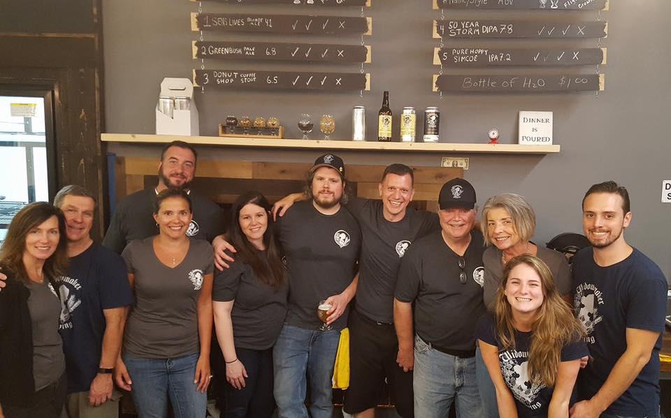 Widowmaker Brewing staff