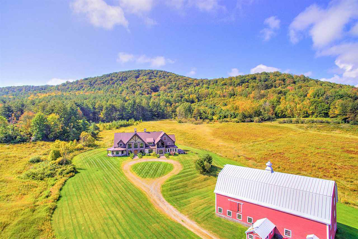 On the market a farm lodge in vermont boston magazine for Cost of building a house in vermont