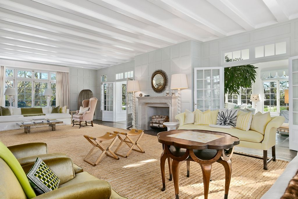 jackie kennedy hamptons home
