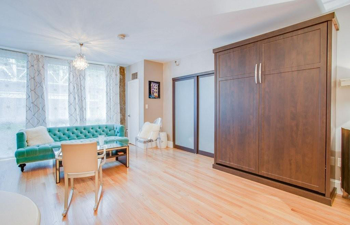three city condos for sale with murphy beds