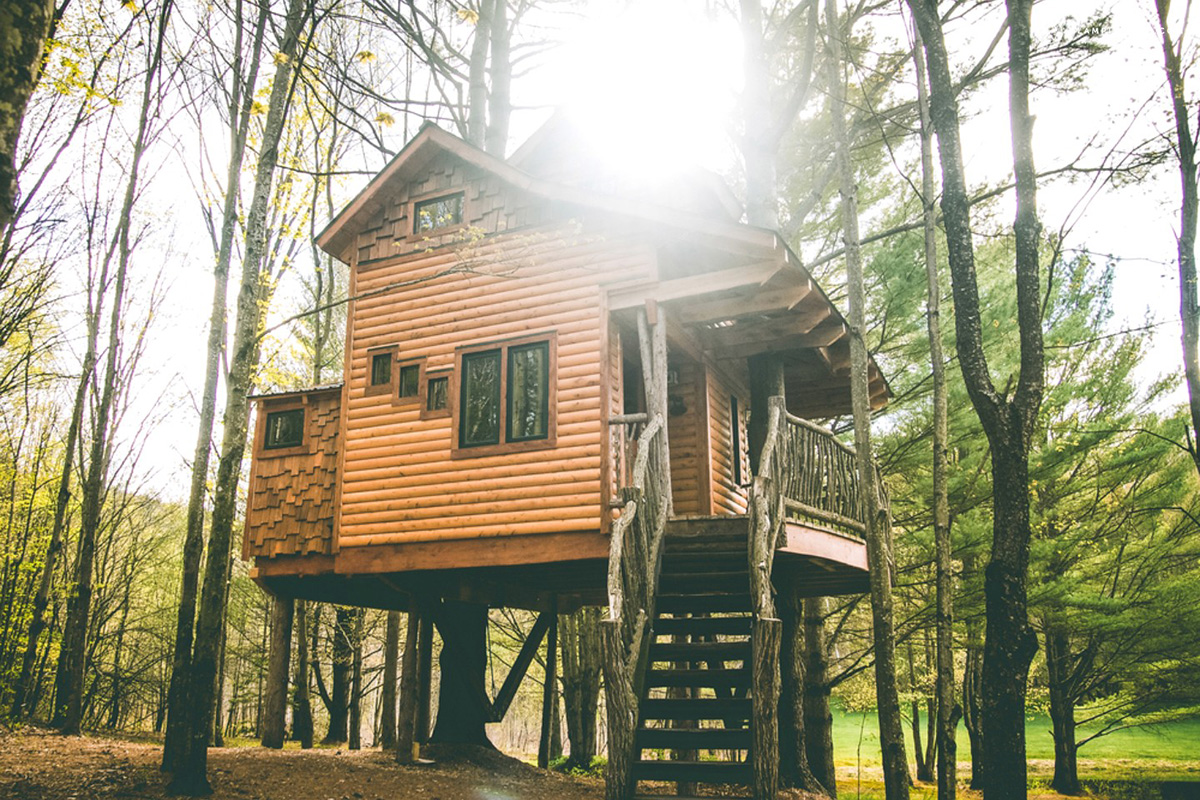 treehouses new england