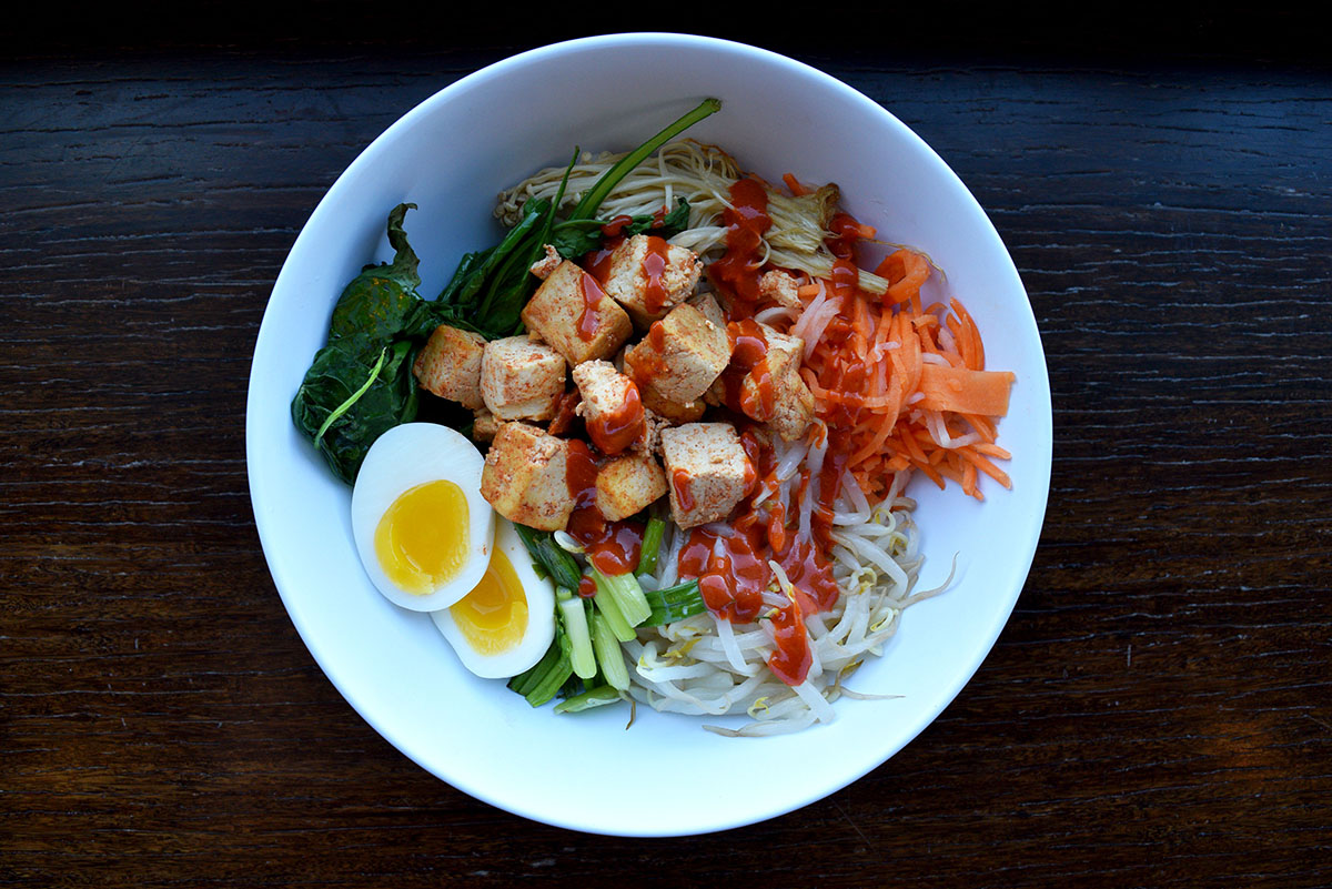 The Bon Me bap bowl is one of several new menu items at Bon Me in East Cambridge