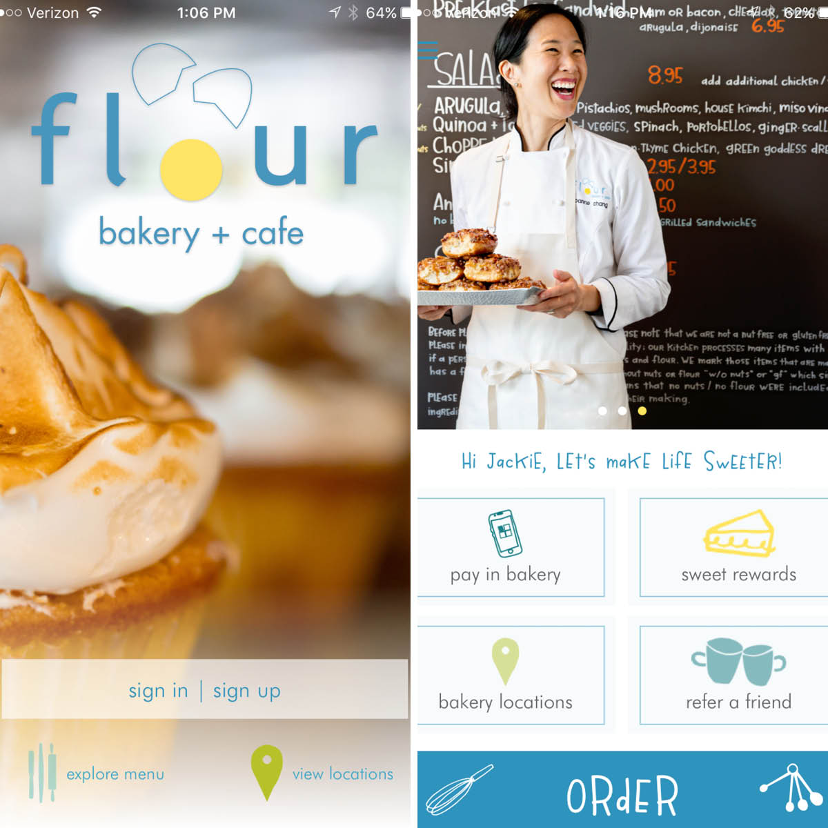 Flour Bakery + Cafe app