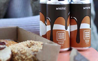Mystic releases Union Square Donuts Boston Cream Stout at its Chelsea brewery this weekend