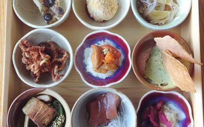 Shokado bento box at Momi Nonmi