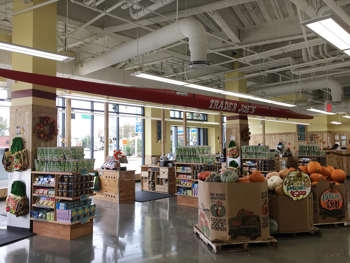 Look inside trader joe s new allston location boston for Trader joe s fish