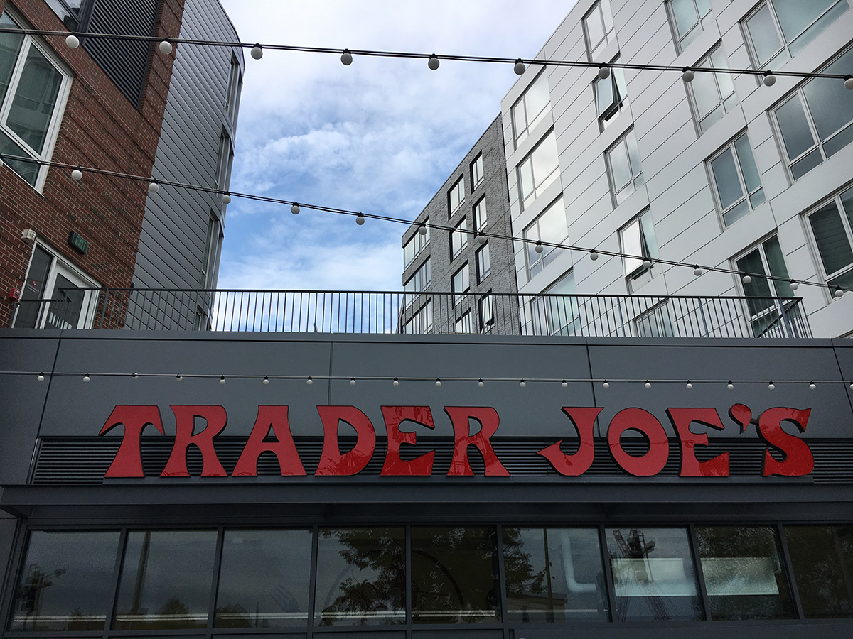 Trader Joe's at the Continuum building in Allston