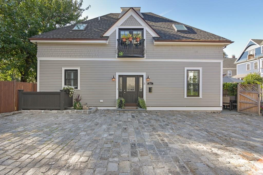 three renovated carriage houses for sale in boston