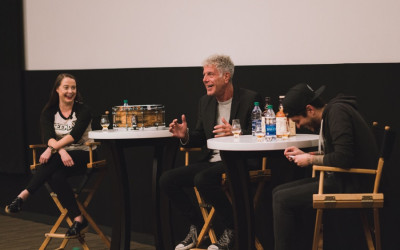 Anthony Bourdain at Raw Craft screening
