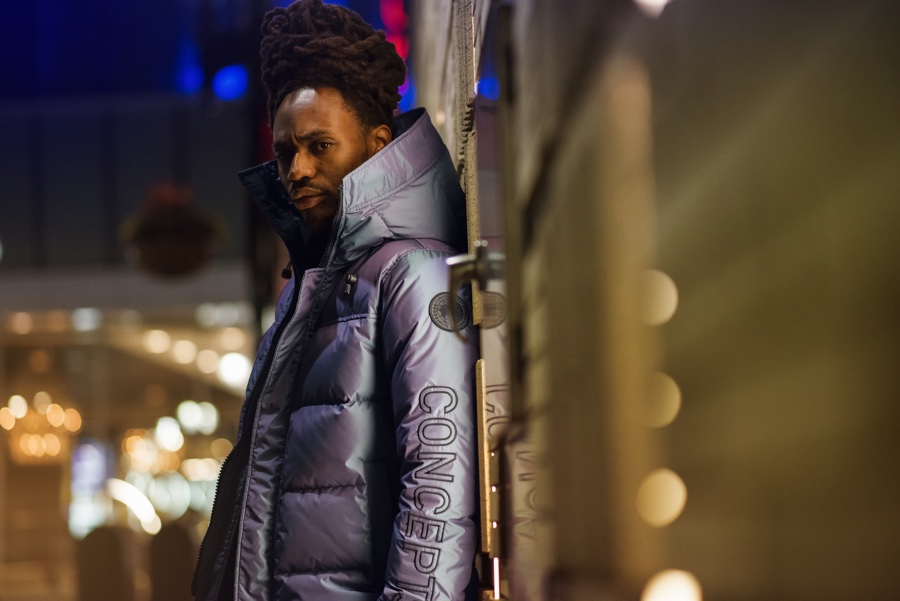Canada Goose and Concepts parka