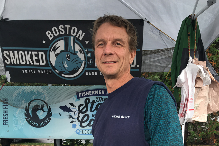 Hooked Fish Shop cofounder Jimmy Rider
