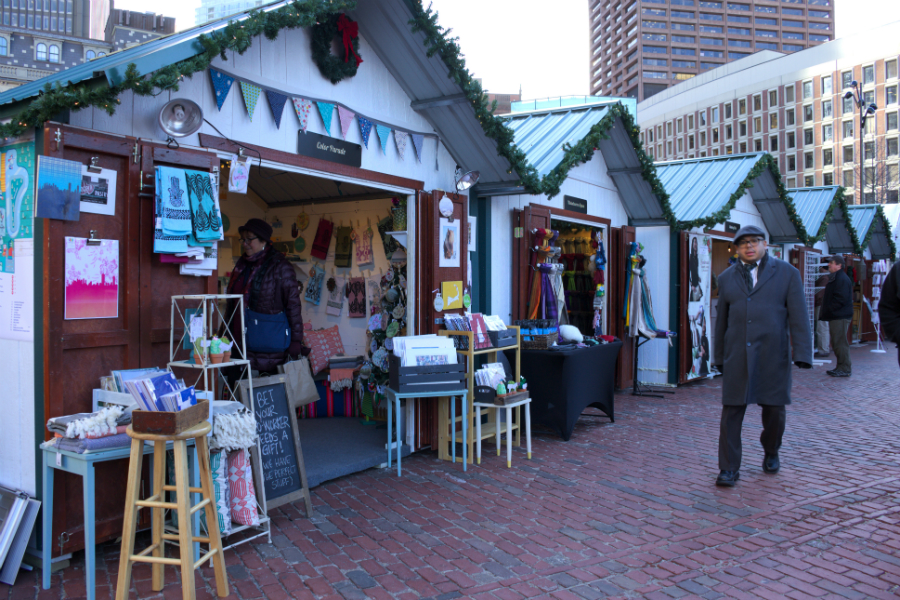 Boston Winter Wonderland 2020.Boston Winter In City Hall Plaza Is Back And Better Than Ever