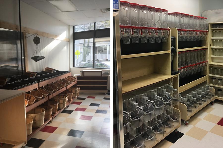 Neighborhood produce Somerville store shelves