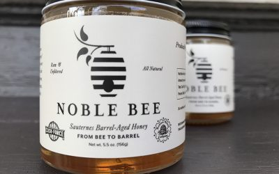 Cask Force's Noble Bee Sauternes Barrel-Aged Honey