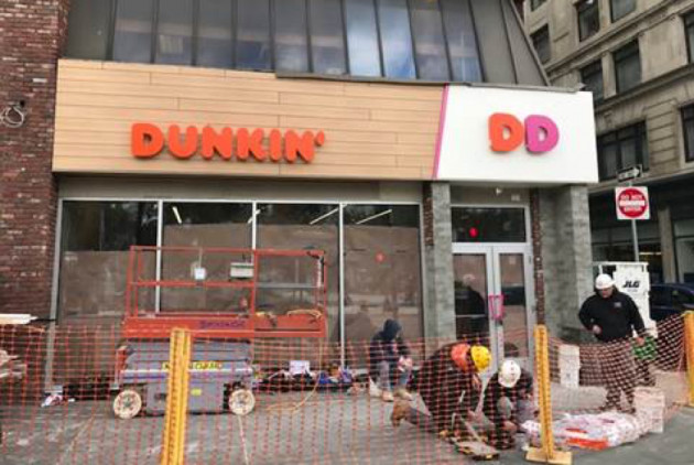 """Oh No: Dunkin' Donuts Is Opening a """"Dunkin"""" Store in Boston"""