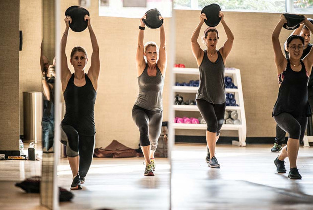 Life Time Fitness Centers Are Offering Spartan Classes