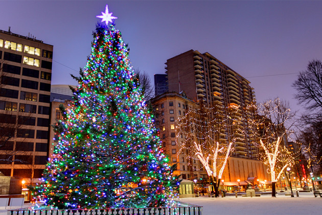 Boston Christmas Tree Lighting Events for the 2017 Holiday Season