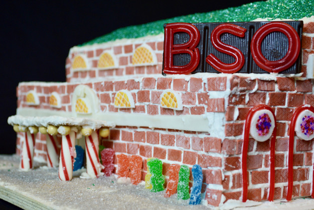 """Innovative Gingerbread Designs Celebrate """"Boston Firsts"""" at BSA Space"""