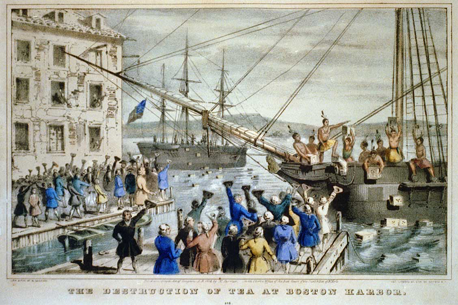 tbt telling the story of the boston tea party through artifacts boston magazine. Black Bedroom Furniture Sets. Home Design Ideas