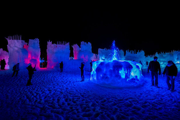 Giant Ice Castles Are Returning to New England