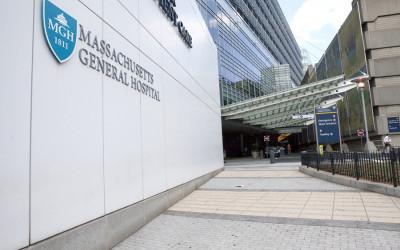 The Massachusetts General Hospital sign