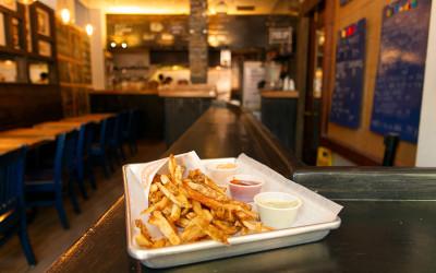 Fries at Saus on Union Street in Boston
