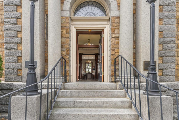 On the Market: A Home in a Former Massachusetts Library