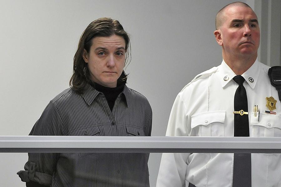 Sonja Farak in court