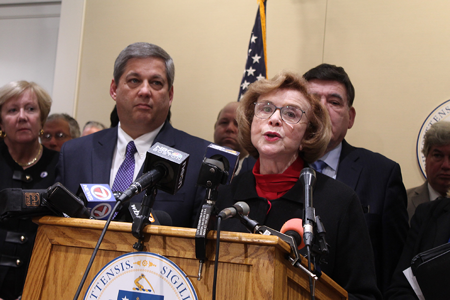 Harriette Chandler Of Worcester Elected Acting Mass. Senate President