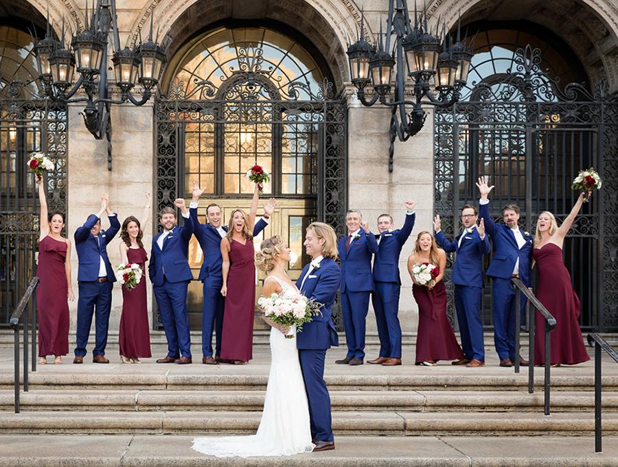 Real Weddings Boston: Real Wedding: Jenny Johnson & Robert Cocuzzo