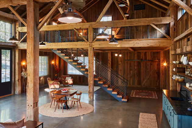 Spaces: A Barn for All Seasons