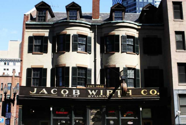 Iconic Theater District Beer Hall Jacob Wirth Is for Sale