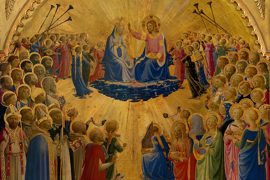 An Italian Renaissaince painting depicting Jesus Christ