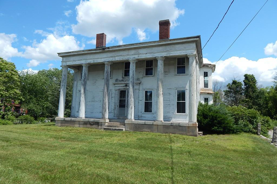 Fixer-Upper Friday: A Greek Revival Mansion in Millville