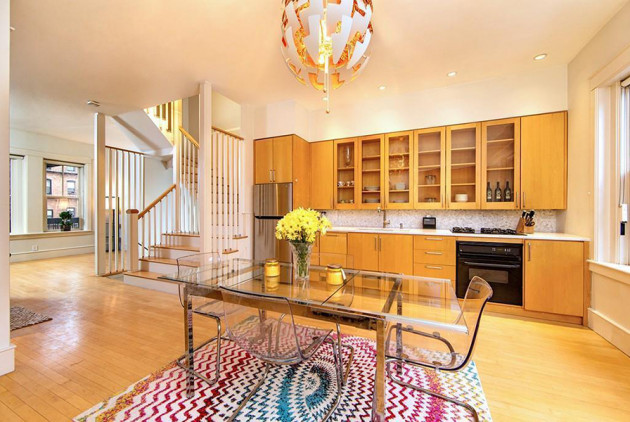 On the Market: A Light-Filled Townhouse in the South End