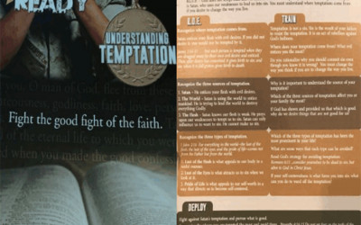 "A pamphlet about ""fighting temptation with faith"""