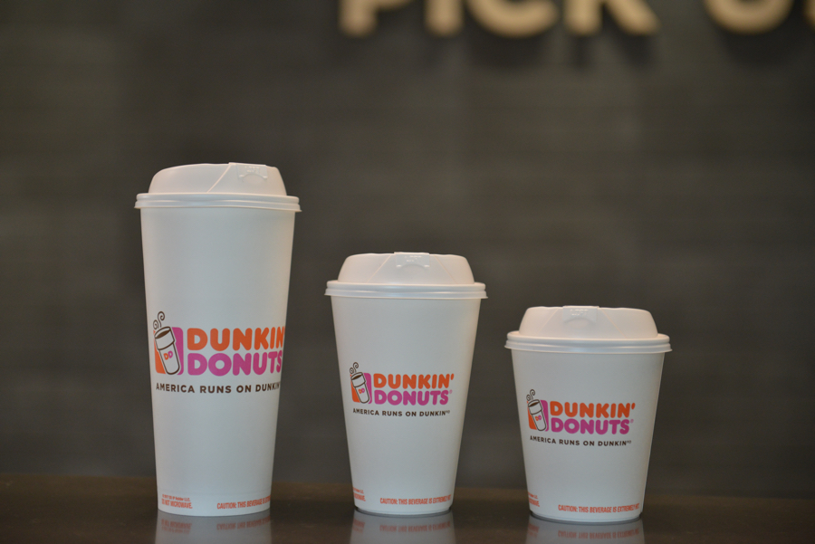 Dunkin' Donuts to eliminate foam cups worldwide by 2020
