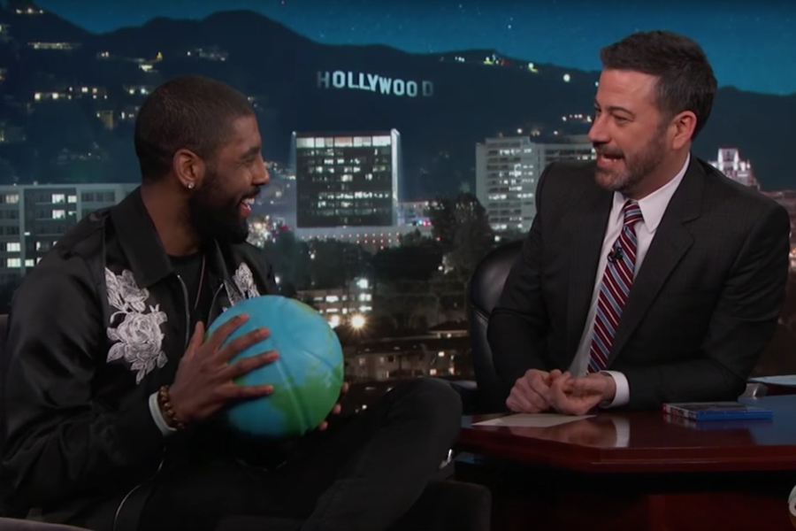 a538cbff0e7 Kyrie Irving Talked about the Flat Earth on Jimmy Kimmel Live Last Night