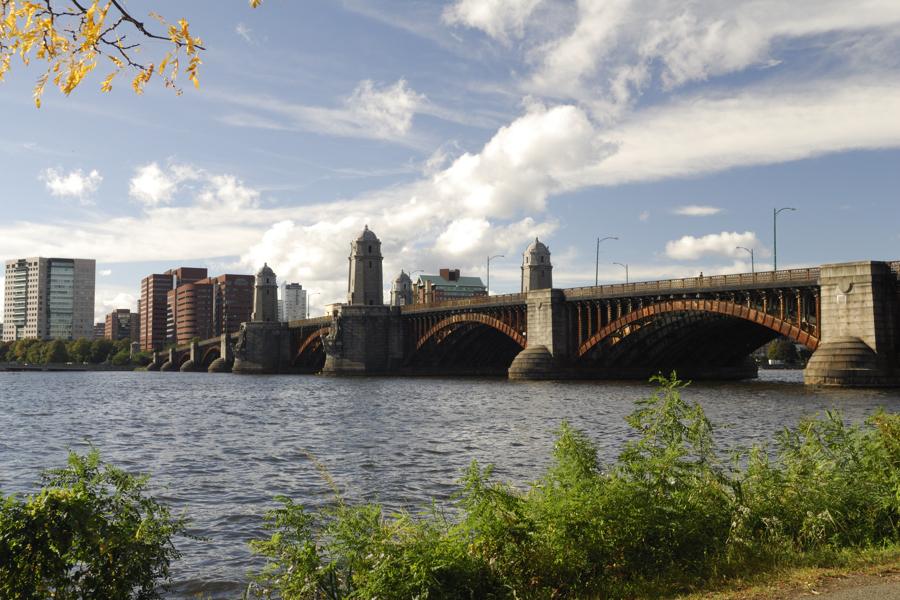 morning commute tobin bridge chelsea massachusetts flickr