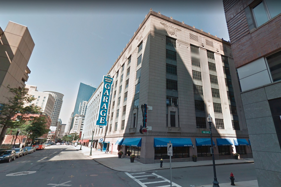A 17 Story Tower Could Rise From Motor Mart Parking Garage In Back Bay