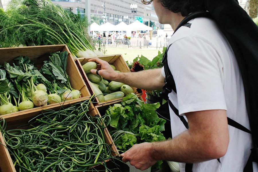 How to Shop a Farmers' Market Like Boston Chef Alex Crabb