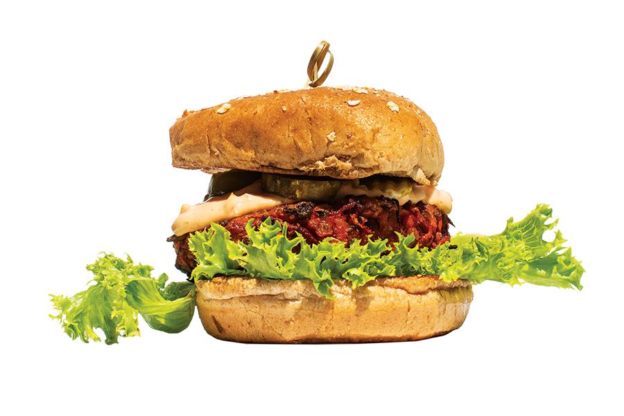 Four Veggie Burgers To Sample Around Boston
