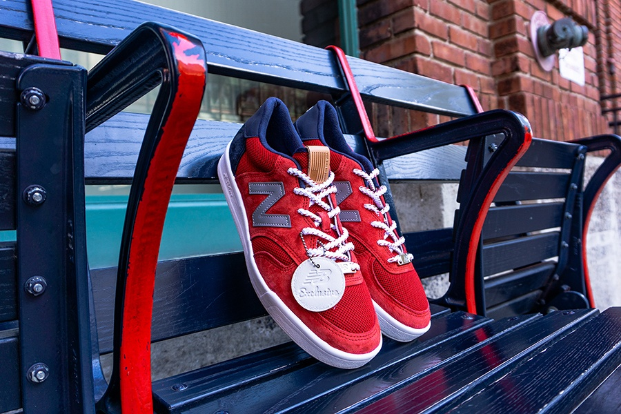 New Balance Launches Limited Edition Boston Red Sox Sneakers