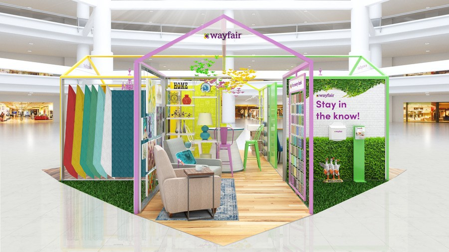 A Wayfair Pop Up Shop Is Coming To The Natick Mall
