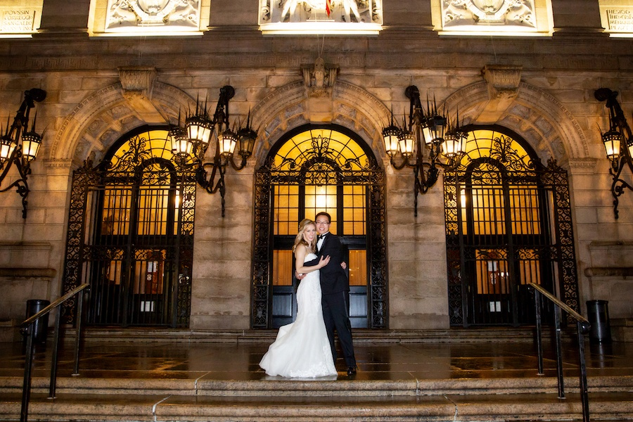 Boston Public Library Wedding.Laura Schneider And Mike Hsu S Boston Public Library Wedding