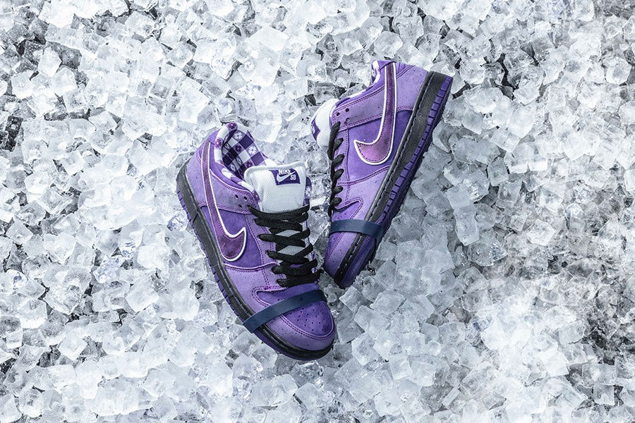 quality design bb671 d6d87 purple lobster dunk